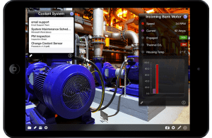 iQagent industrial app for iPad and iPhone