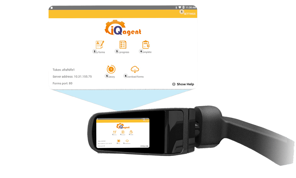 iQagent Forms industrial AR software on RealWear HMT-1